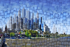 Melbourne 2064 AD: Collins Street Sector (thescatteredimage) Tags: city collage cityscape australia melbourne victoria montage photomontage 2012 scattered construct digitalcollage hockneyish hockneyesque thescatteredimage scatteredimage mexg amomentarycollective