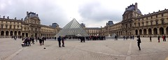 Paris (DG Jones) Tags: panorama dog paris france tourism statue garden pyramid capital hound tourists angry crowds grounds northfrance paname 1starrondissement tuilieries globalcity iledefrance lavillelumiere 1starondissment