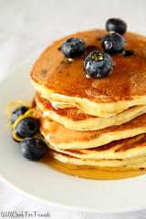 Lemon Blueberry Pancakes, 1/3 (WillCookForFriends) Tags: morning food sunshine breakfast recipe photography lemon mix blueberry homemade pancake ricotta styling