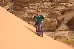 The Valley of the Moon (okuna) Tags: trip people me rock sandstone desert wadirum jordan valley wadi