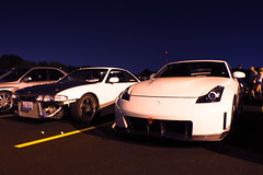DSC03363 (Photography by BNC) Tags: auto car vw night honda photography long exposure nissan jeep flash mob toyota mazda audi acura meet mitsubishi jdm