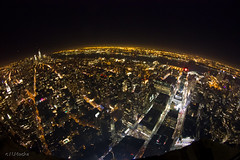 New York View (Nicholas Mucha Photography) Tags: city nyc original sky ny newyork fisheye 8mm club16
