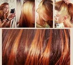 hair (Juliet-K) Tags: girl hair multicoloredhair