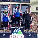 Van Houtte GS, Norquay - Charley Field 1st, Stephanie Gartner 2nd - overall and J1 (day 2) PHOTO CREDIT: Gregor Druzina