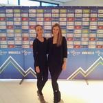 Novoletni sprejem Nogometna zveza Slovenije s hostesami Agencija 22