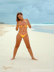 Sandra_06 (the_weaselfan) Tags: sexy ass beach sandra boobs dominicanrepublic bikini thong topless winner contributor puntacana seethru bavaro wickedweasel seetrough