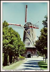 Niederlande / Provinz Zeeland / Wissenkerke / Molen - De Onderneming / Baujahr: 1860 (berndwhv) Tags: windmills niederlande molens windmühlen mühlen provinzzeeland
