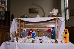 Knitivity or Knitted Nativity at St John The Baptist Church Dodworth (101) (PHH Sykes) Tags: church saint st john baptist knitted figures nativity the dodworth knitivity
