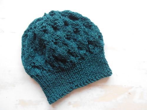 wool handmade knitted emerald