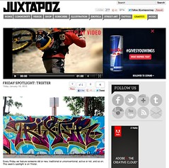 JUXTAPOZ (Mr. Trixter) Tags: art magazine graffiti trains spotlight funk friday westcoast rf fsc juxtapoz trixte