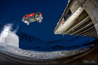 The jumping Freestyle Car with Guerlain Chicherit