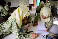 37475-013: Madrasah Education Development Project in Indonesia (Asian Development Bank) Tags: indonesia idn yogyakarta southeastasia 37475 37475013 adbproject educationproject madrasahaliyahnegeri madrasahaliyahnegeriyogyakartaschool people girls teens teenagers youth young friends students scholars classmates schoolmates class classroom lessons lecture notes classactivity groupactivity school educationalinstitution madrasa madrasah medresa madrassa madraza