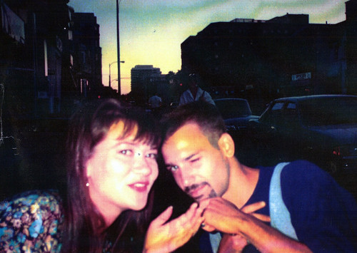 Holly Stamer and Steven Rosenberg Summer 1991