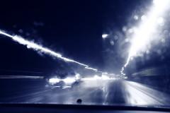Dreams (animefx) Tags: road camera longexposure wet car rain digital canon eos lights drive noir mood driving action dream dreams dslr ff 2011 35mmf14l 5dmarkii 5d2 5dmkii 5dmk2 5dmark2