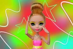 "Model Mayhem c.1   Theme 3 ""Neon pop!"" (dasha.savitskaya13) Tags: everafterhigh ashlynn ella agatha becker beautiful nice fashion model neonpop neon pop"