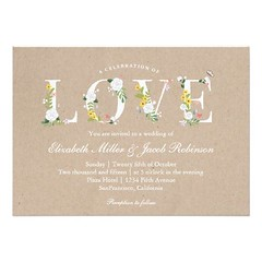 (Floral Love Wedding Invite) #Floral, #Kraft, #Love, #Wedding is available on Custom Unique Wedding Invitations store http://ift.tt/2aTLox8 (CustomWeddingInvitations) Tags: floral love wedding invite kraft is available custom unique invitations store httpwwwzazzlecomfloralloveweddinginvite161027176459898031rf238062003443194985 weddinginvitation weddinginvitations