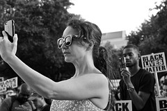 Standing together (wheeler_camille) Tags: street blackandwhite white black austin photography justice texas state tx rally protest peaceful social capitol lives matter blacklivesmatteraustinrallyjuly15 2016statecapitol