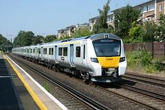 700007 Kensington Olympia 20/07/2016 (Brad Joyce 37) Tags: 700007 class 700 5x73 kensingtonolympia london test unit sunshine blueksy