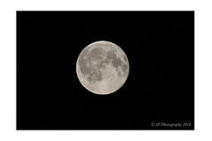 Moon over Manchester (prendergasttony) Tags: elements body bright nikon d7200 night dark space moon planet lunar