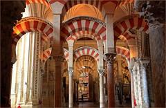 Mezquita-Catedral, Cordoba, Andalucia, Espana (claude lina) Tags: claudelina espana spain espagne andalucia andalousie city town ville cordoba cordoue architecture mezquitacatedral mosque cathdrale arcades colonnes