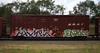 Hamek/Enron (quiet-silence) Tags: graffiti graff freight fr8 train railroad railcar art hamek enron vts hcm boxcar bnsf bnsf721616