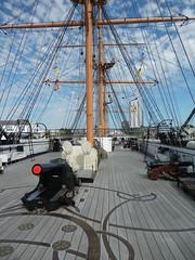 HMS Warrior, Portsmouth (etmeyer) Tags: portsmouth hmswarrior
