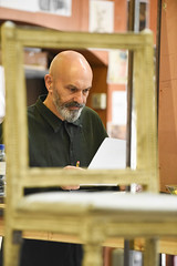 Christopher Hunter plays Judge/ Marquis/ Frenchman 2 and President 1 and 2 (TheatreCloud) Tags: a tale two cities charles dickens twocitiestour uk theatre tour 2018 play adaptation rehearsals rehearsal shots first look james dacre