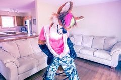 Fox! (Ice Foxx) Tags: 91e207427274e5 camo camouflage femboi femboy fox furry fursuit hoodie partial urbancamo urbancamouflage zaryashirt