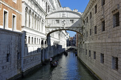 Venice Bridge of Sighs (steven.kemp) Tags: venice italy canal gondola water river sea st marks square boat architecture building bridge tower church