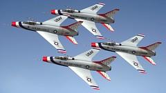 Thunderbirds (emigepa) Tags: north american f100 super sabre thunderbirds blender 3d model