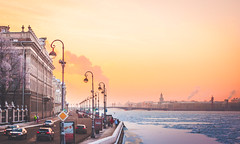 (areg.j) Tags:     russia saintpetersubrg neva   sunset