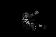 Simple Man  !!!!! (imagejoe) Tags: vages nevada strip street black white photography photos reflections shadows people nikon