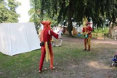 Nijmegen Middeleeuws Spektakel van de Geboeders van Limburg (pdp.osdorp) Tags: nijmegen valkhof festival middeleeuwen nar jongleur