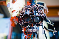 just another manic monday (~Staci Lee~) Tags: mask thriftstore color skull