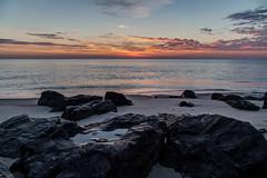 Jetty Pool (aka Buddy) Tags: 2016 summer sunrise dawn atlatic ocean beach sand jetty rocks sky clouds monmouthbeach nj og hdr
