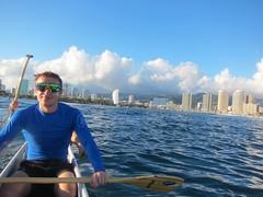 IMG_6816 (nautical2k) Tags: waikikibeachboys paddling outrigger canoe diamondhead honolulu oahu