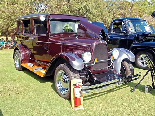 1928 Willys-Overland Whippet, Black Diamond Car Show
