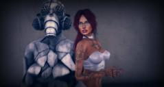 Gallery 2 (Jenna Jay ( jjdomzarjs )) Tags: dixmix gallery art secondlife sl slphotography splashdash slart jjdomzarjs gray colourpop lomography lomo holga vintage redhead sexy whittop whit top water