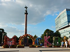 moskva16 (Horosho.Gromko.) Tags: moscow city russia summer street building