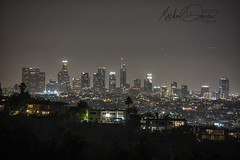 Los Angeles, California (Michael Davis Photography) Tags: losangeles la losangelescalifornia california skyline night laskyline downtownla downtown skyscraper
