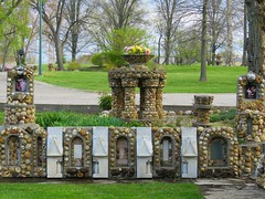 Providence Home Geode Grotto #2 (jimsawthat) Tags: smalltown jasper indiana religious shrines unusual geodes grotto