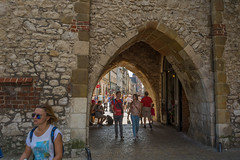 arch (stevefge) Tags: krakow poland barbican people oldtown men women girl arch stone candid summer zomer reflectyourworld
