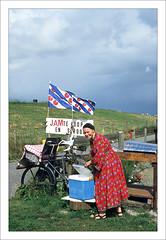 Frisian Flag (macfred64) Tags: film analog 35mm 135 slidefilm transparency diapositive fujiprovia100f nikonf4 nikkoraf3570mmf28 flag frisianflag