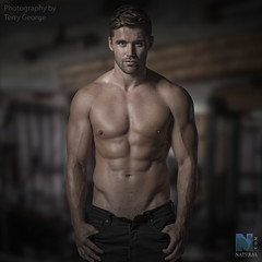 Ashley Gibson NFM (TerryGeorge.) Tags: natural fitness models abs six pack workout toned athletic muscle terry george shirtless underwear male model