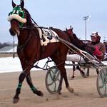 24 - race 11 - Judy's Promise (#3) w/ Carl Putnam Jr and Envy (#2) w/ Darrell Wright thumbnail