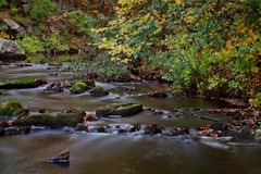 Cross River (JMS2) Tags: autumn fall nature water river foliage slowshutter cascade crossriver
