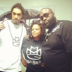 Gunplay and Ricky Rozay