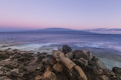 Haleakala Sunset (hawaiiansupaman) Tags: ocean sunset seascape hawaii rocks waves maui haleakala maalaea