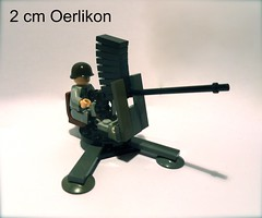 20 mm Oerlikon (Dutch Bricks) Tags: 2 dutch wwii cm ww2 20mm mm 20 wo2 oerlikon woii ww11 2cm vll 2tl wo11