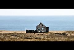 Abandonded (ThePieCo) Tags: travel wild building abandoned ice nature landscape outdoors island fire coast iceland nikon europe hiking glacier land iceberg peninsula d90